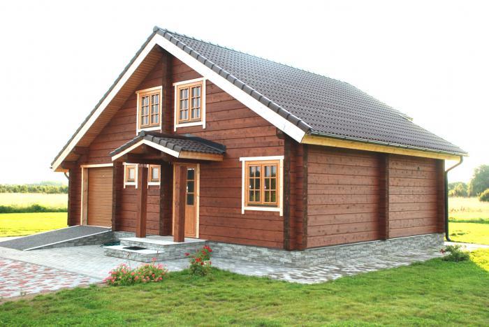 stavět dům dřeva