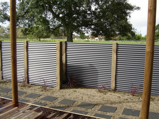 per costruire un recinto di prezzo corrugato