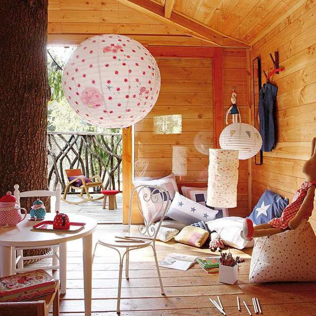 jak postavit stromový dům pro děti