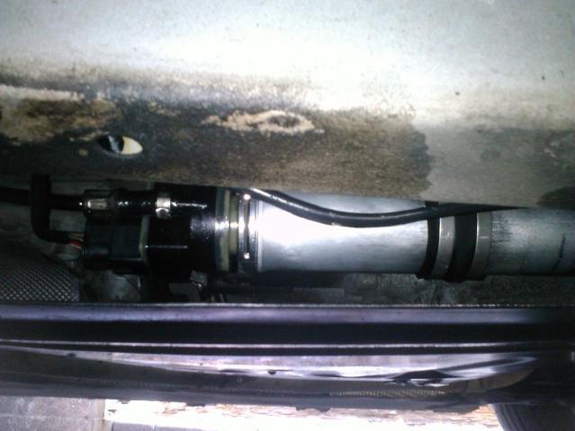 kako promijeniti filtar za gorivo