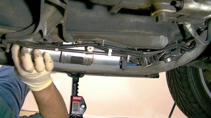 kako zamijeniti filtar za gorivo