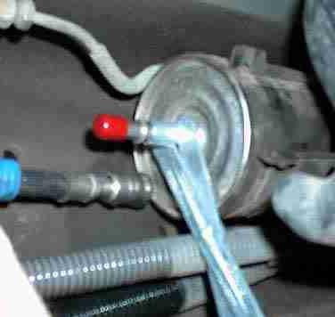 kako promijeniti filtar goriva viburnum