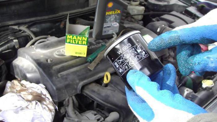 come cambiare il filtro dell'olio