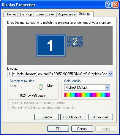 резолуција екрана монитора