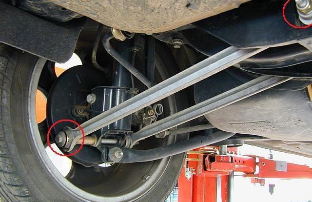 come cambiare i blocchi silenziosi sul fascio posteriore Vaz 2109