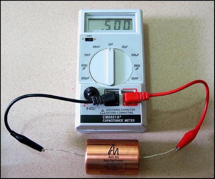 jak sprawdzić kondensator za pomocą multimetru