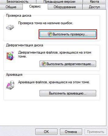 controllare l'unità flash per virus web medico