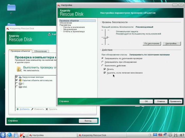 come controllare l'unità flash per i virus via Internet