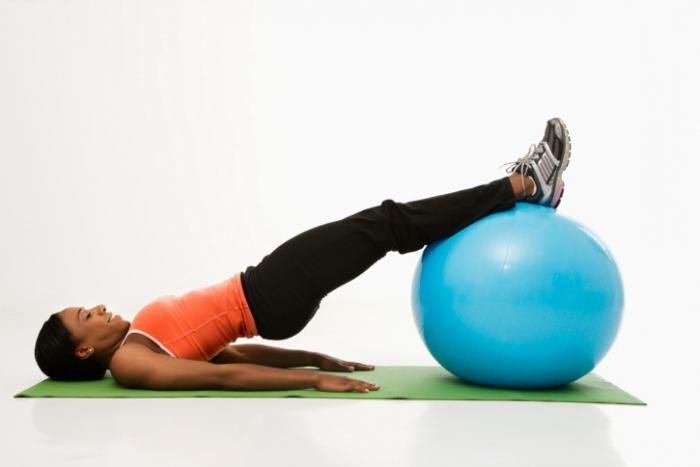 grandi palle per il fitness