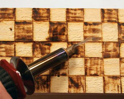 инструмент за изгаряне на дърва