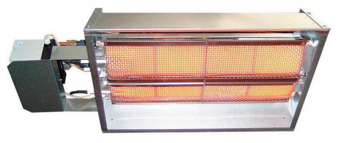 инфрачервени керамични нагреватели