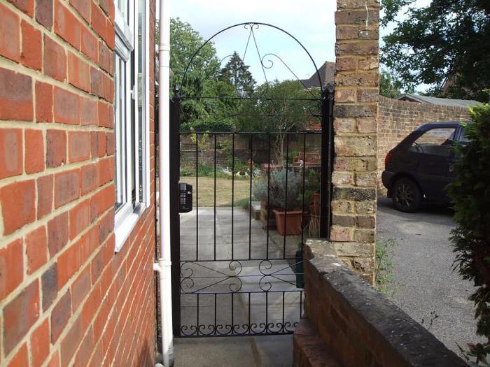 bloccare l'installazione sul cancello