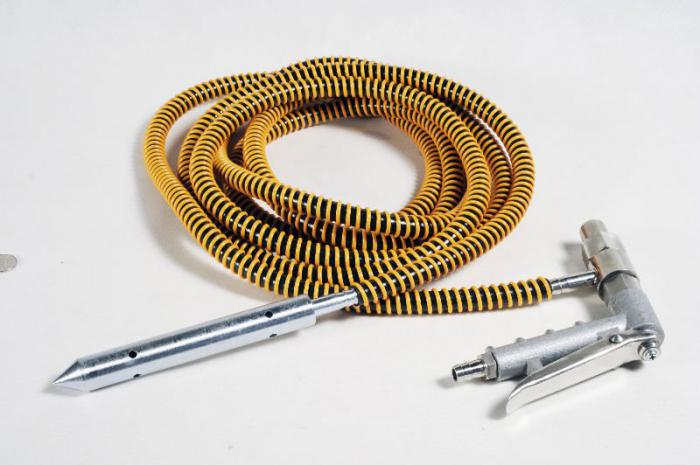 pistola di sabbiatura pneumatica