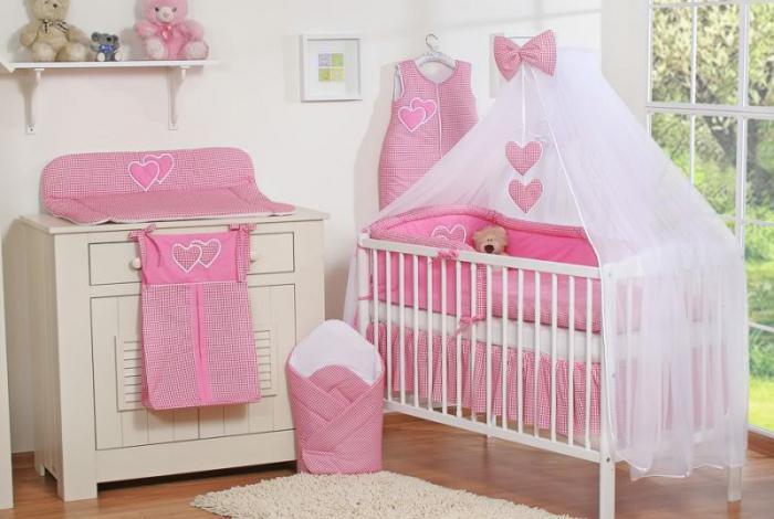 set culla per neonati 7 articoli