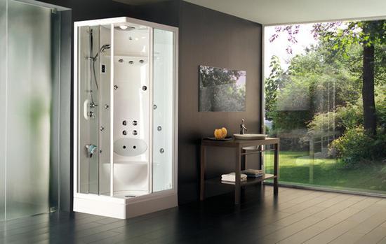 doccia angolare