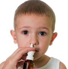 spray per naso per bambini