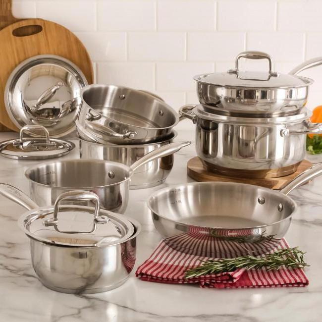quali piatti sono necessari per la cucina ad induzione