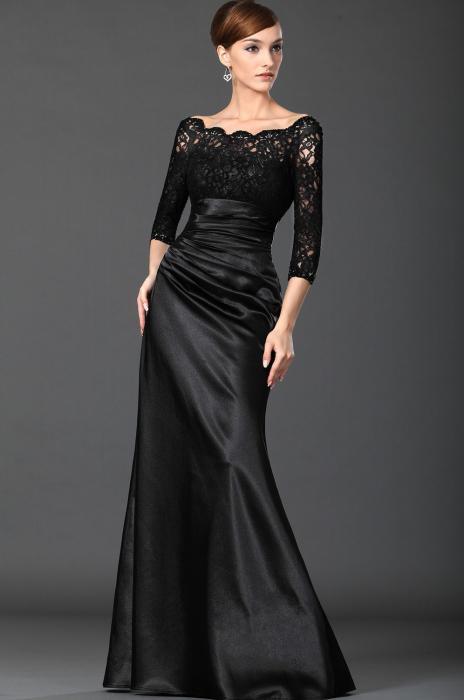 haljina od rastezljivog satena