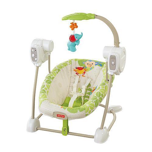 dziecięca elektryczna huśtawka dla noworodków