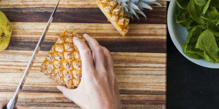 come sbucciare l'ananas