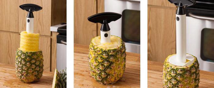 Come pulire un ananas con un coltello