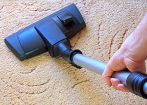 Wyczyść dywan octem