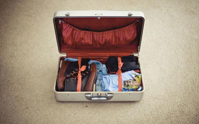 mettere le cose in una valigia in modo compatto