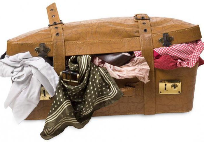 come compattare le cose in una valigia come imballare