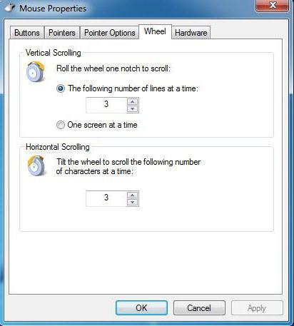 come configurare il mouse sul computer Windows 7