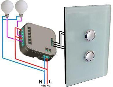 kako spojiti dvostruki prekidač svjetla