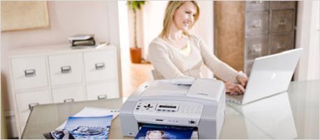 Napiše, da tiskalnik ni povezan