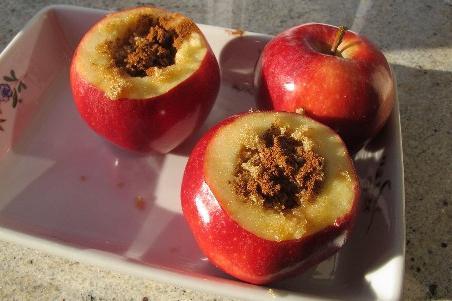 jabolka v pečici