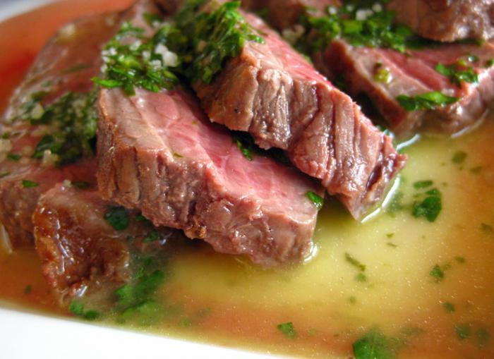ентрецоте рецепт за говедину са фотографијама