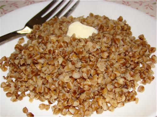 porridge di grano saraceno con latte