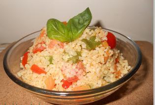 bulgur con verdure