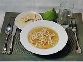 Супа с пилешко юфка