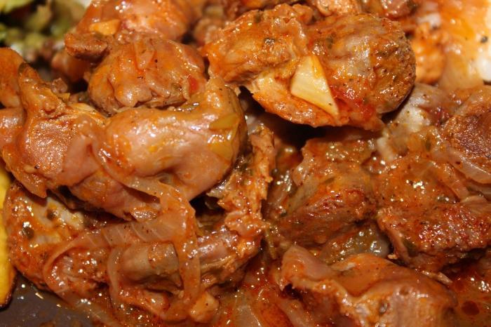 come cucinare i ventricoli di pollo