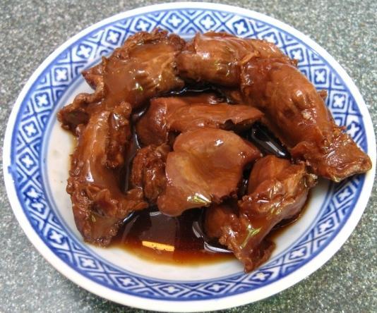 come cucinare lo stomaco di pollo