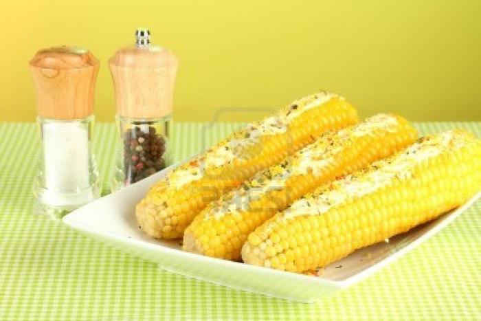 как да се готви замразена царевица