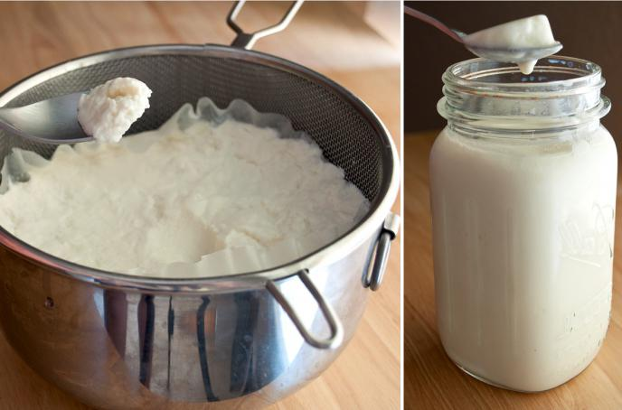 cucina allo yogurt greco