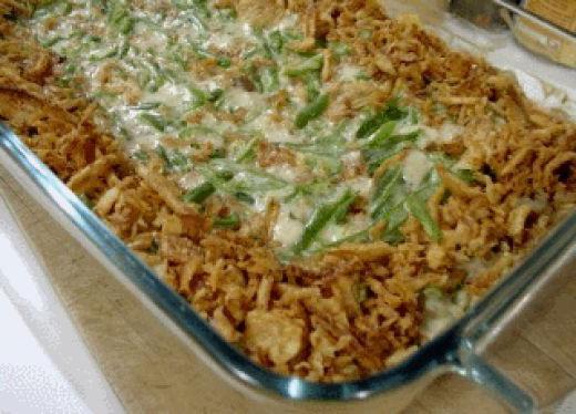 piatti di fagioli verdi