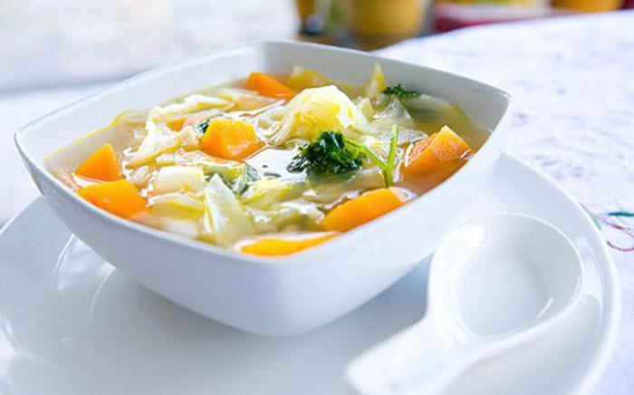 zuppa con calorie di pollo