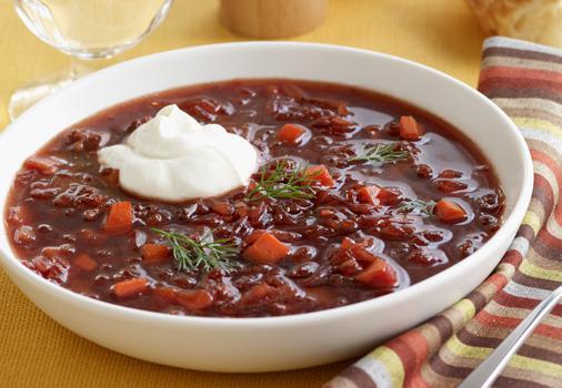 borscht magro