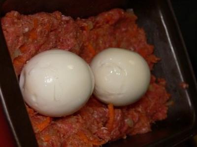 Polpettone all'uovo
