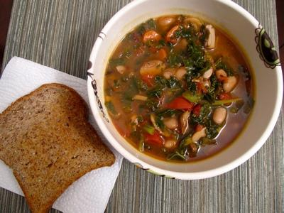 mrożona zupa grzybowa