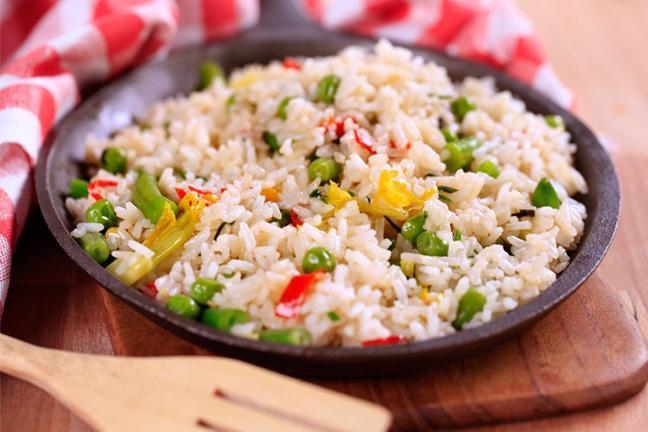 kako kuhati rižu s povrćem