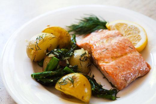 come cucinare il salmone al forno