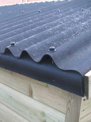 jak střechu střechy s ondulínem