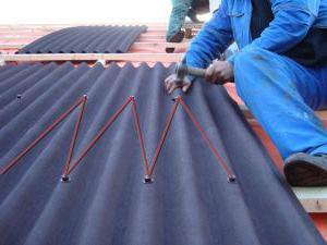 pokryjeme střechu ondulínem
