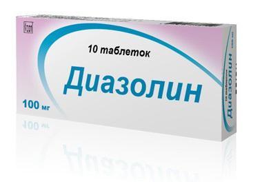 indikacije diazolina